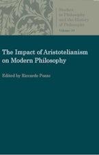 The Impact of Aristotelianism on Modern Philosophy